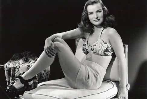 Ella Raines, Hollywood star and Olds' wife