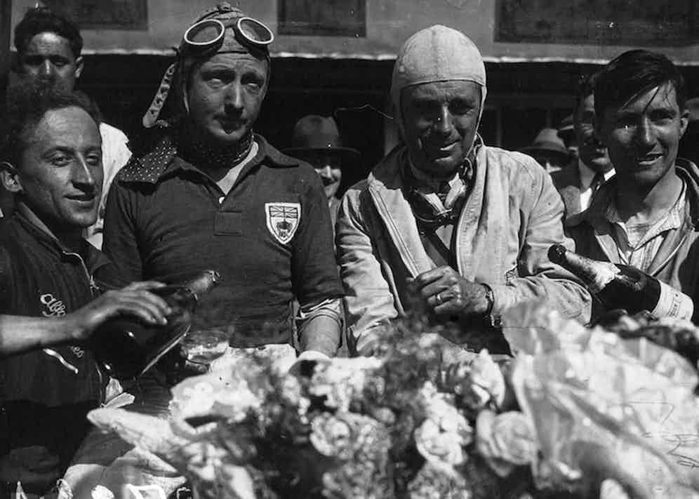 Tim Birkin and Curzon at 24 Hours of Le Mans, 1931