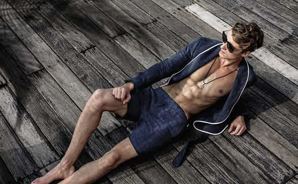 Orlebar Brown for The Rake: The Resort Capsule Collection