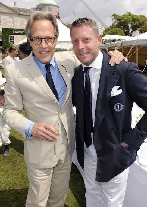 Lord March and Lapo Elkann