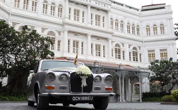 Raffles Singapore – An Oasis of Dashing Gravitas