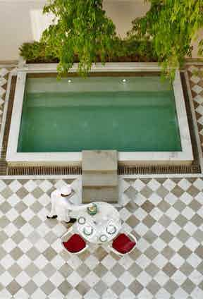 Photograph courtesy of Suján and Relais & Chateaux.