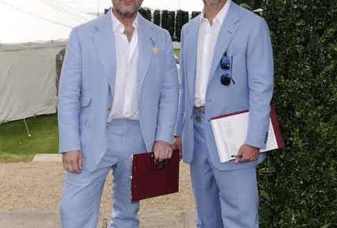 Sir Jonathan Ive and Marc Newson