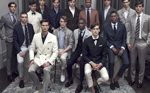 London Collections Men SS17: Thom Sweeney