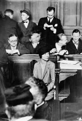 Former Countess Alice De Janzé Alice Silverthorne in court after shooting at the Gare de Nord Station