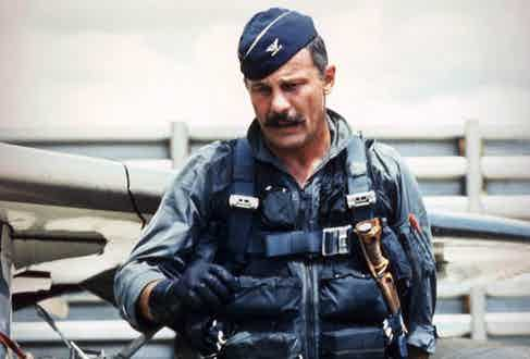Colonel Robin Olds, in Southeast Asia, 1967