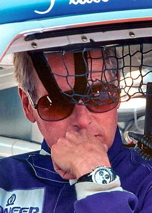 Paul Newman, the watch and the man in their natural habitat (Image source: rolexmagazine.com)