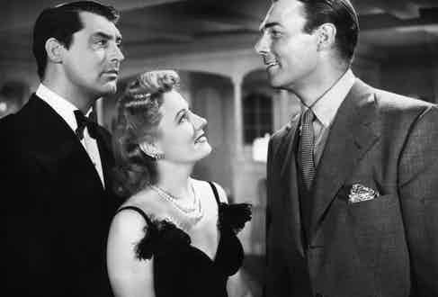 Cary Grant, Irene Dunne and Randolph Scott in 1940's 'My Favorite Wife'