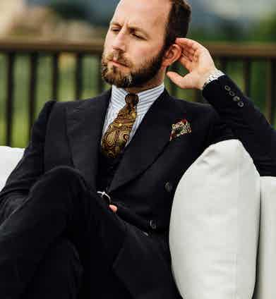 Davide Taub of Gieves & Hawkes.