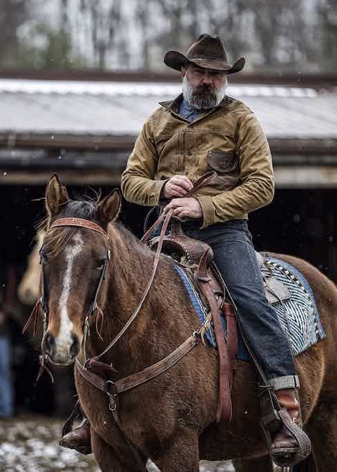 Photograph by Cory Piehowicz courtesy of WH Ranch Dungarees.
