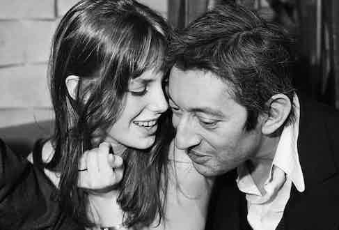 The couple in Paris, 1972 Image by © Marc Simon/Apis/Sygma/Corbis