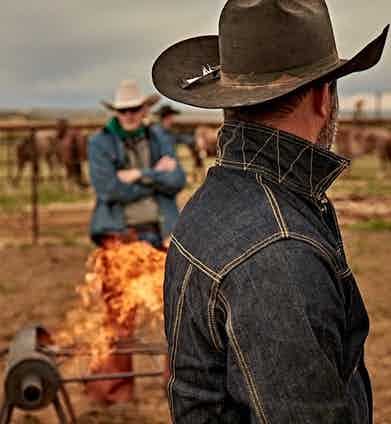 Photograph by Scott Slusher courtesy of WH Ranch Dungarees.