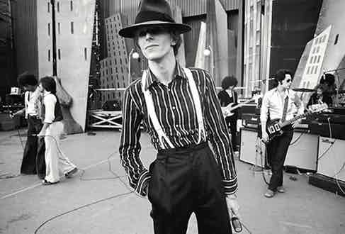 David Bowie. Photograph by Terry O'Neill.