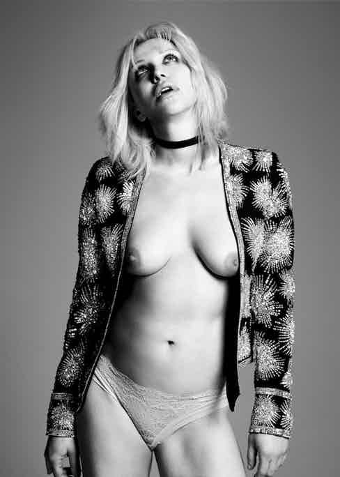 Courtney Love. Photograph by Hedi Slimane.