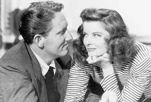 Hepburn and Spencer, 1942. Photo by Pressefoto Kindermann/ullstein bild via Getty Images.