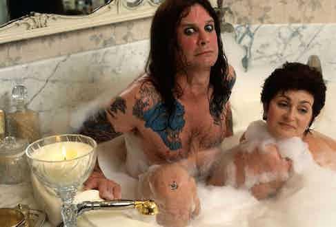 Ozzy Osbourne and wife Sharon.