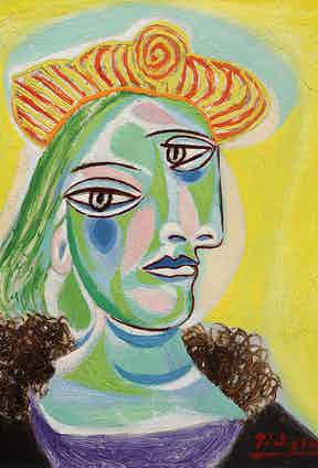 Pablo Picasso, Bust of a Woman, 1943. Image courtesy of Hirshhorn Museum and Sculpture Garden, Gift of Joseph H. Hirshhorn, 1966 © Picasso Estate / SODRAC (2016) Photo by Cathy Carver.