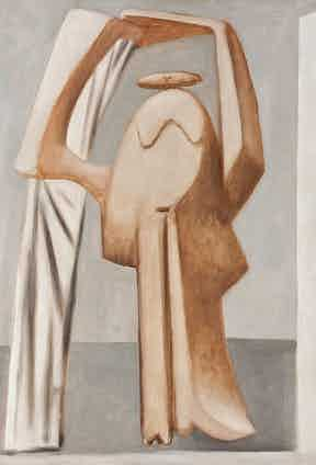 Pablo Picasso, Female Bather With Raised Arms; 1929; Photograph courtesy of Phoenix Art Museum, gift of the Allen-Bradley Company of Milwaukee.