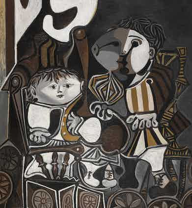 Pablo Picasso, Claude and Paloma,1946.