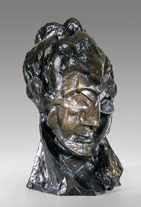 Pablo Picasso, Tête de femme (Fernande), 1909, bronze. Photograph courtesy of Helen Thurston Ayer Fund.