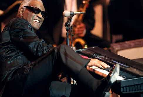 Ray Charles at Avery Hall, New York in 2004