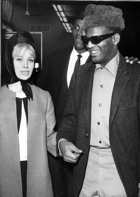 Ray Charles and Raita Johnson