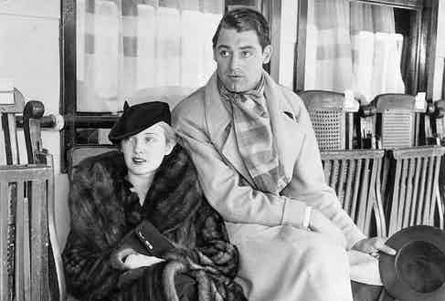 Cary Grant with wife Virginia Cherill