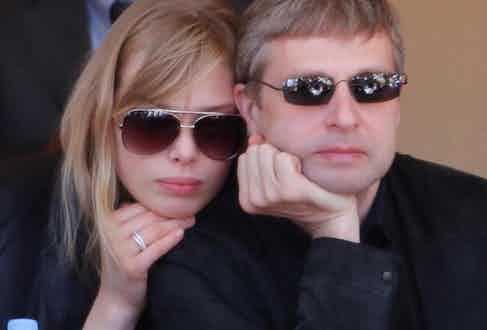 Dmitry Rybolovlev with now ex-wife Elena