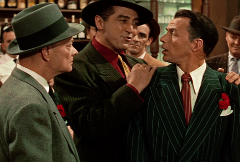Frank Sinatra in Guys and Dolls, 1955