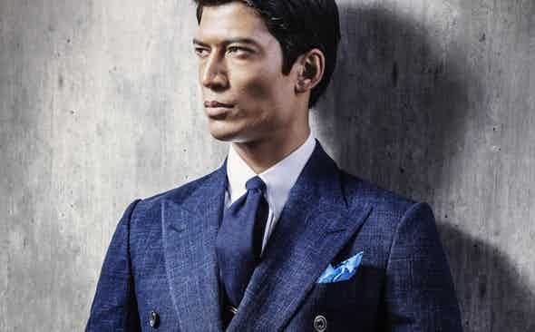 Chester Barrie for The Rake: The Lightweight Double-Breasted Travel Blazer