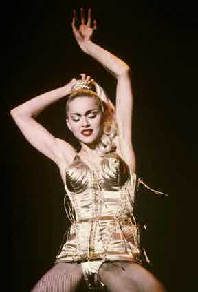 Madonna. Photo by John Roca/REX Shutterstock.