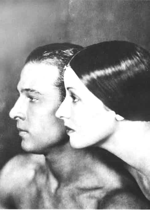 Rudolph Valentino and Natacha Rombova