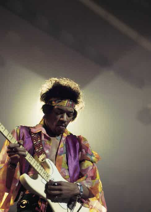 Jimi Hendrix. Photo by David Redfern/Redferns.