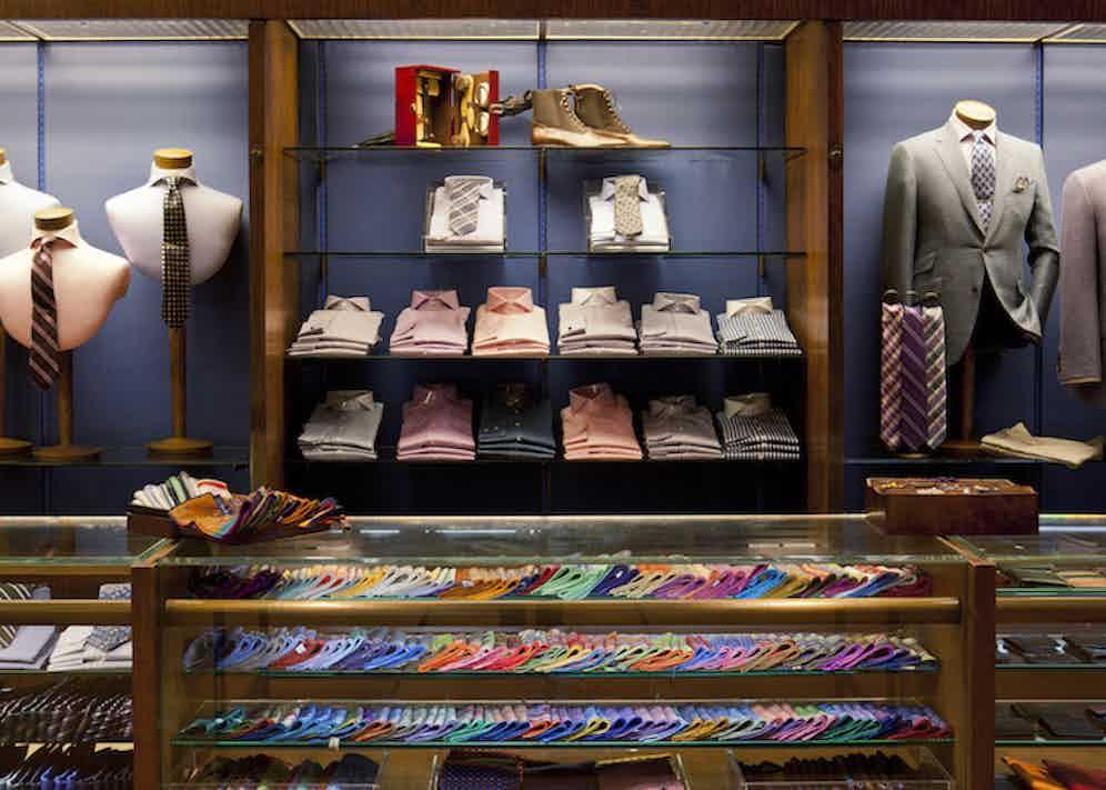 Paul Stuart store. (Photo courtesy of Paul Stuart)