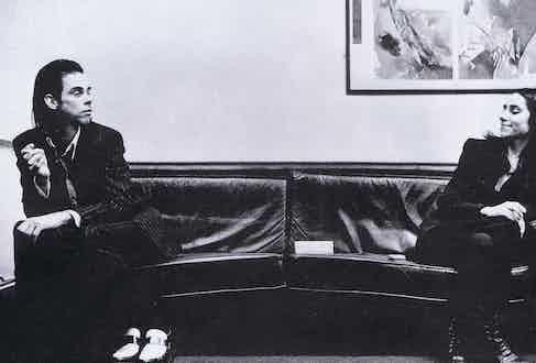 Nick Cave and PJ Harvey.