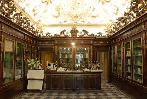 Inside Officina Profumo-Farmaceutica Di Santa Maria Novella.