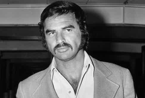 Burt Reynolds and the hair that got him into