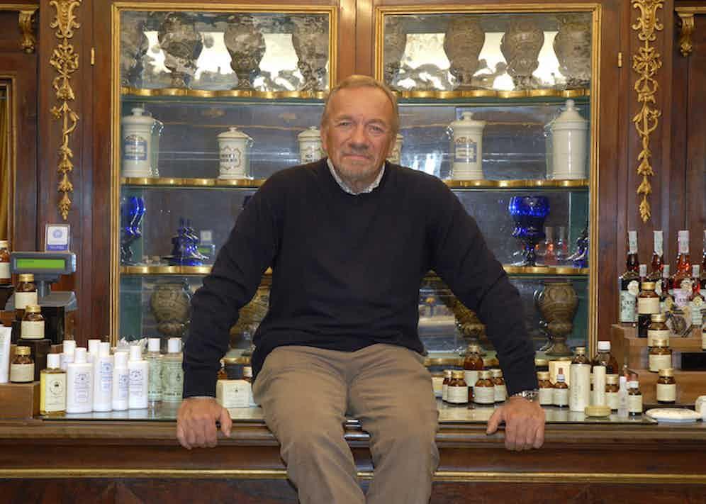 Mr Eugenio Alphandery, President of Officina Profumo-Farmaceutica Di Santa Maria Novella.