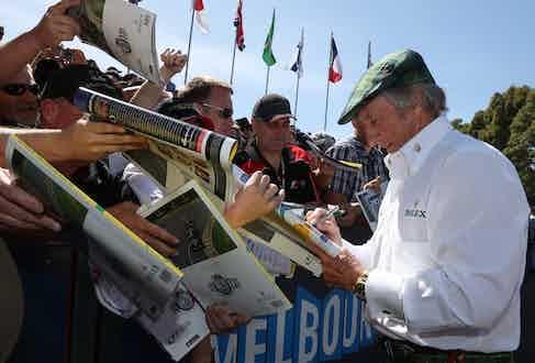 Sir Jackie Stewart. (Photo courtesy of Rolex/Jad Sherif)