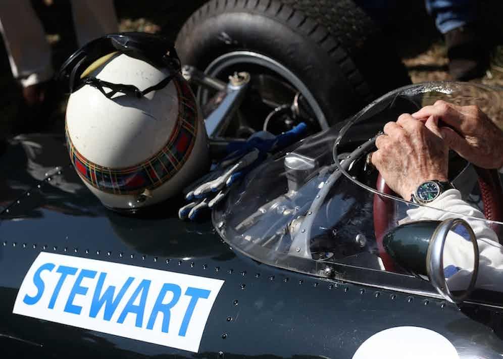 Sir Jackie Stewart (Rolex Testimonee). 1965 (Photo courtesy of Rolex/Jad Sherif)