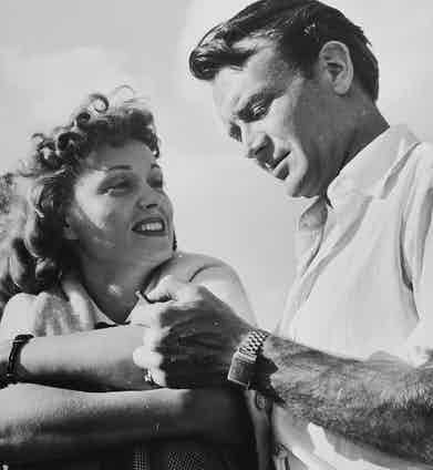 Actors John Mills and Martha Scott.  Photo by Tony Linck/The LIFE Picture Collection/Getty Images.
