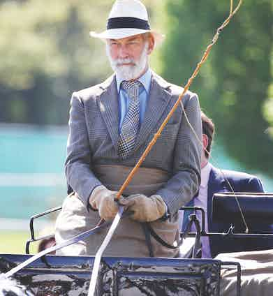 Prince Michael of Kent takes part in the carriage driving as he attends day five of the Royal Windsor Horse Show at Home Park, 2012 in Windsor, England. Photo by Chris Jackson/Getty Images.