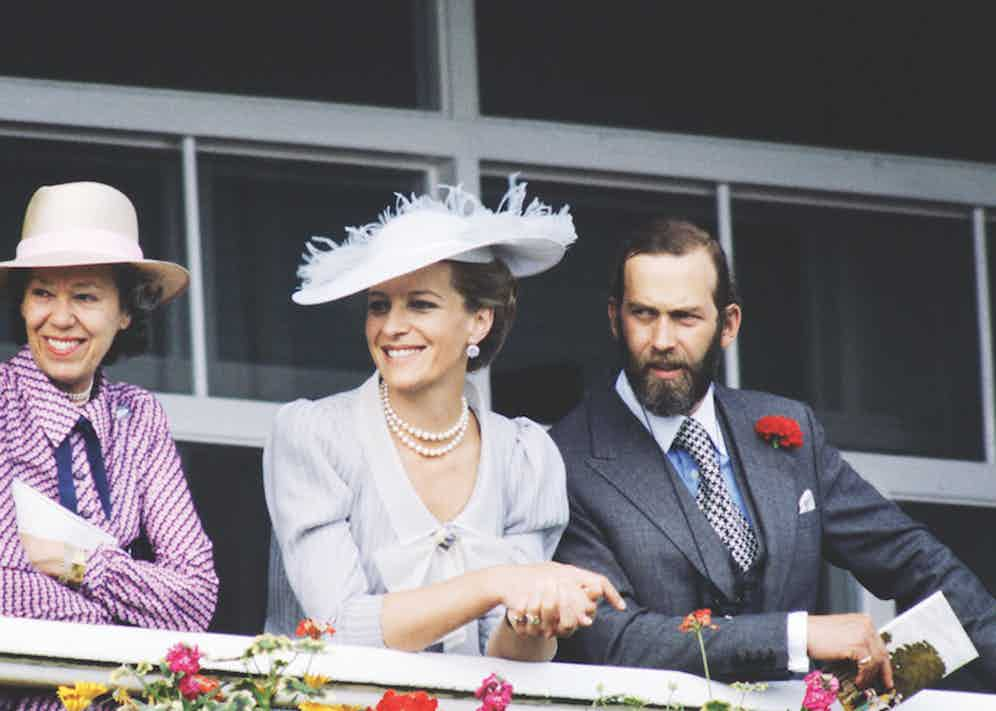 Prince And Princess Michael Of Kent attending Derby Day. Photo by Tim Graham/Getty Images.