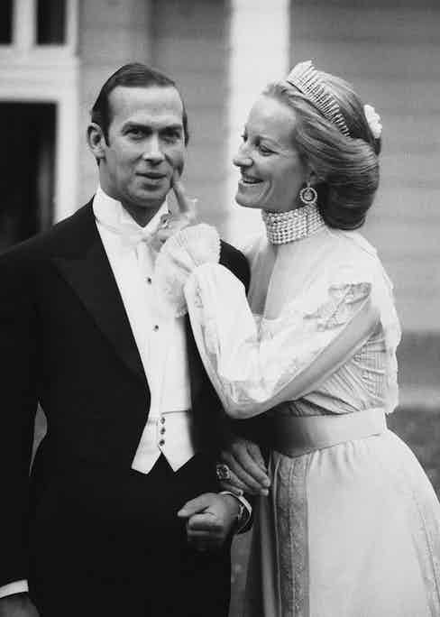 Prince Michael of Kent marries Baroness Marie-Christine von Reibnitz in Vienna, 30th June 1978. Photo by John Downing/Getty Images.