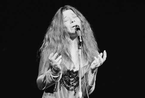 Janis Joplin. Photo by Estate Of Keith Morris/Redferns.