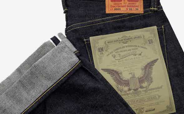 Invest: The Real McCoy's Lot.003 Japanese Selvedge Denim Jeans