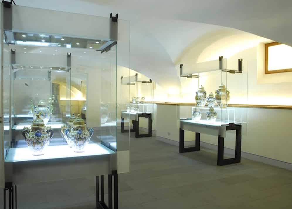 The museum section of Officina Profumo-Farmaceutica Di Santa Maria Novella.
