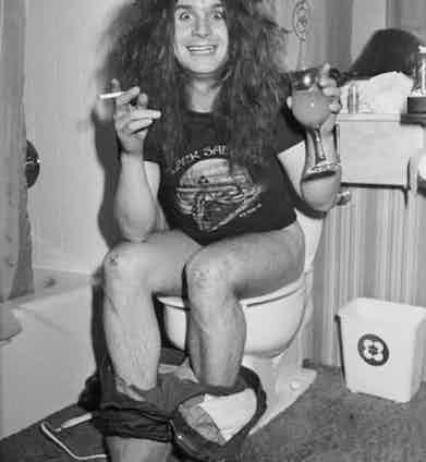 Ozzy Osbourne. Photo by Andrew Kent.