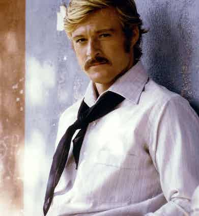 Robert Redford in Butch Cassidy and The Sundance Kid, 1969.