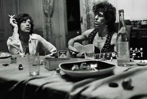 The Rolling Stones. Photograph by Dominique Tarlé.